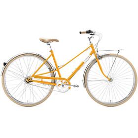 Creme Caferacer Uno Bicicletta da città giallo
